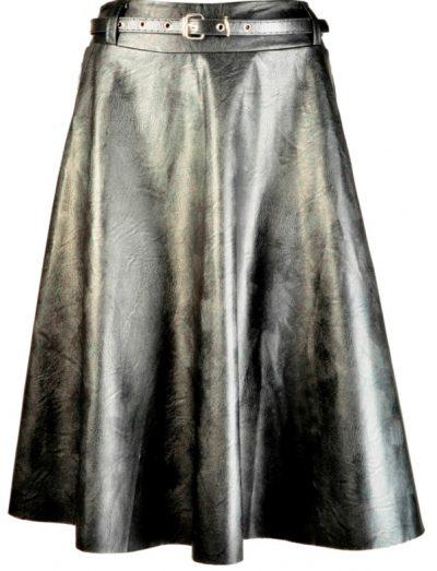 חצאית מטאלית של סלקטד | צילום דימטקי גרין